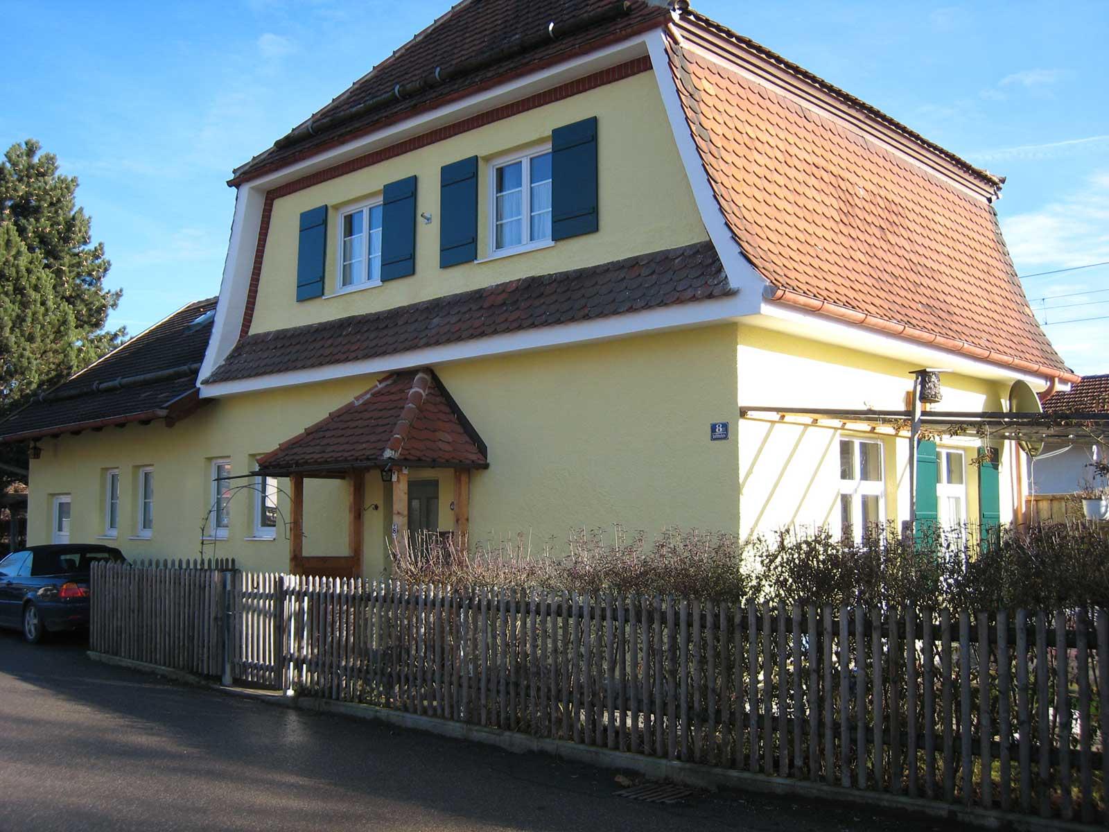 Haus in der Bahnhofstraße Hohenschäftlarn (nachher)